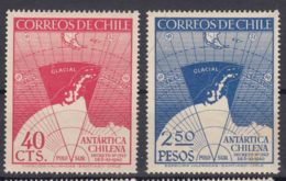 Chile 1947 Mi#355-356 Mint Never Hinged - Chile