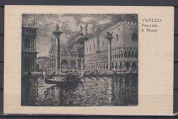 Postcard Travelled To Yugoslavia, Venezia Piazzetta S. Marco - Venezia (Venice)
