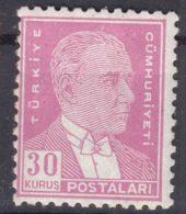 Turkey 1931 Ataturk Mi#960 Perforation 11 1/2 : 12 Mint Never Hinged - Ungebraucht