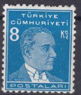 Turkey 1936 Ataturk Mi#1002 Mint Never Hinged - Ungebraucht