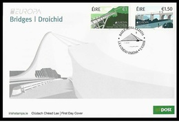 Ireland/Eire 2018 - Europa C.E.P.T. Bridges FDC - 1949-... República Irlandése