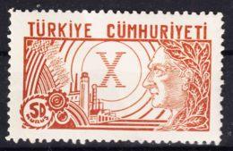 Turkey 1933 Mi#970 Mint Never Hinged - Ungebraucht