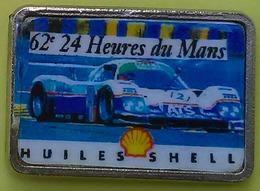 Pin's 24 H DU MANS - 62ème EDITION - SHELL - F1
