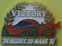 Pin's 24 H DU MANS  91 - VICTOIRE DE LA MAZDA - RENOWN - F1