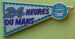 Pin's 24 H DU MANS - ACO AUTOMOBILE CLUB DE L'OUEST - F1