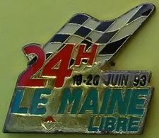 Pin's 24 H DU MANS - PRESSE - LE MAINE LIBRE 19/20 JUIN 1993 - F1