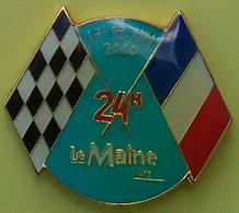 Pin's 24 H DU MANS - PRESSE - LE MAINE LIBRE 17/18 JUIN 2000 - F1