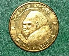 .. ZOOPARC DE BEAUVAL . LE GORILLE .. MEDAILLES ET PATRIMOINE .... - Other