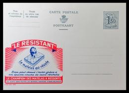 ENTIER CP PUBLIBEL 1578 .  LE RESISTANT . LE MATELAS QUI RESISTE.  . NEUF - Publibels