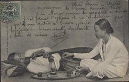 Cachet 2 Régiment Tirailleurs Annamites Détachement ? Chef Bataillon YT FM 3 CAD Saigon Central 6 Juin 06 Fumeur D'opium - Indochina (1889-1945)