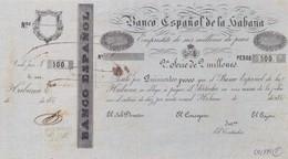 Cuba  El Banco Espanol De La Habana Bond 500 Pesos COPY, Pick Does Not Know, Meleg B04 - Cuba
