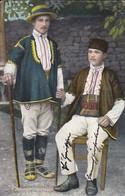 AK Villageois De Kostinbrod - Bulgarien Bulgaria - Feldpost Tel. Abt. Balkan - 1918 (41829) - Bulgarien