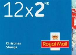 GREAT BRITAIN 2018 Christmas 2nd Class Booklet LX57 - Markenheftchen