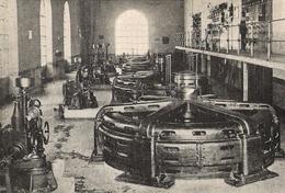 Aveyron. Usine Du Truel Sur Le Tarn Salle Des Alternateurs.  Sté D' énergie électrique De La Sorgue Et Du Tarn 1922 - Old Paper