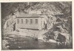 Aveyron.Usine Provisoire De Brézou  1922 - Old Paper