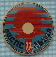 USSR / Badge / Soviet Union / UKRAINE. Table Tennis. Ping Pong . International Tournament . Lviv. Lvov 1977 - Tennis Tavolo
