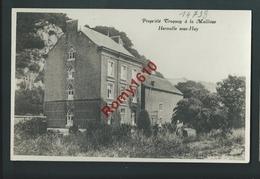 Hermalle-sous-Huy - Propriété Troquay à La Mallieue. Carte Photo. - Engis