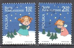 Poland 2005 - Christmas - Mi 4225-26 - Used Gestempelt - 1944-.... Republic