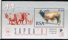 AFRIQUE DU SUD/SOUTH AFRICA/Neufs **/MNH**/1997 - Année Lunaire Chinoise Du Boeuf - Blocchi & Foglietti