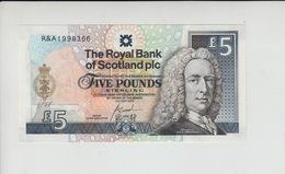 AB324. The Royal Bank Of Scotland Plc £5 Banknote 14th May 2004. #R&A 1998366 FREE UK P+P - [ 3] Scotland