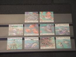 NUOVA ZELANDA - 1993 FAUNA MARINA 10 VALORI - NUOVI(++) - Nuovi