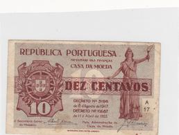 Portugal-  10 -centavos -casa Da Moeda - Portugal