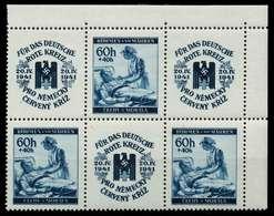 BÖHMEN MÄHREN Nr WZd10 Und WZd11 Postfrisch 6er-BLOCK X7B6632 - Böhmen Und Mähren