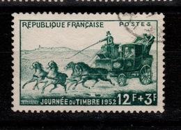 YV 919 Oblitéré Journee Du Timbre 1952 Cote 5 Euros - France