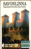 Finland - SPY-D19, Savolinna 94, Opera, Festival, Castle, 20mk, 3,000ex, Exp.12/96, As Scan - Finlande
