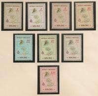 Macau Portugal China Chine 1956 - Carta Geográfica De Macau - Maps - Set Complete - Mint ** MNH / Neuf - Macau