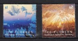 Australian Antarctic 2016 Ice Flowers Two Used - Australian Antarctic Territory (AAT)