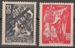 Macau Portugal China Chine 1950 - Ano Santo - Holy Year - Mint MNH / Neuf - Macau