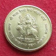 Índia 5 Rupee 2012 Shri Mata Inde Indien Indies Wºº - Inde