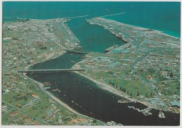 WESTERN AUSTRALIA WA Aerial View Of FREMANTLE Murfett P7003-1 Postcard C1970s - Fremantle