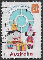 Australia 2016 50 Years Of Play School $1 Self Adhesive Good/fine Used [36/30103/ND] - 2010-... Elizabeth II