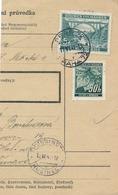 BuM (IMG2011) - Böhmen Und Mähren (1941) Prag 72 - Praha 72 / Hussinetz - Husinec (Postal Parcel Dispach) Tariff: 5,50 K - Böhmen Und Mähren