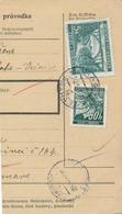 BuM (IMG2013) - Böhmen Und Mähren (1941) Prag 73 - Praha 73 / Hussinetz - Husinec (Postal Parcel Dispach) Tariff: 5,50 K - Böhmen Und Mähren