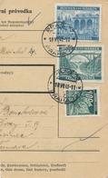 BuM (IMG2014) - Böhmen Und Mähren (1941) Prag 72 - Praha 72 / Hussinetz - Husinec (Postal Parcel Dispach) Tariff 15,50 K - Böhmen Und Mähren