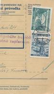 BuM (IMG2015) - Böhmen Und Mähren (1941) Prag 72 - Praha 72 / Hussinetz - Husinec (Postal Parcel Dispach) Tariff: 7,50 K - Böhmen Und Mähren