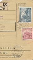 BuM (IMG2017) - Böhmen Und Mähren (1941) Prag 73 - Praha 73 / Pardubitz 1 - ... (Postal Parcel Dispach) Tariff: 5,50 K - Böhmen Und Mähren