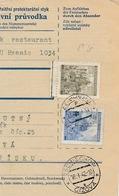 BuM (IMG2018) - Böhmen Und Mähren (1942) Prag 77 - Praha 77 / Tschischow - Cizova (Postal Parcel Dispach) Tariff: 5,50 K - Böhmen Und Mähren