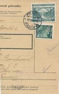 BuM (IMG2019) - Böhmen Und Mähren (1941) Prag 72 - Praha 72 / Hussinetz - Husinec (Postal Parcel Dispach) Tariff: 5,50 K - Böhmen Und Mähren
