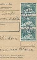 BuM (IMG2020) - Böhmen Und Mähren (1941) Prag 77 - Praha 77 / Hussinetz - Husinec (Postal Parcel Dispach) Tariff 15,00 K - Böhmen Und Mähren