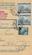 BuM (IMG2021) - Böhmen Und Mähren (1942) Prag 79 - Praha 79 / Tschischow - Cizova (Postal Parcel Dispach) Tariff 8,50 K - Böhmen Und Mähren