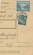 BuM (IMG2022) - Böhmen Und Mähren (1941) Prag 76 - Praha 76 / Hussinetz - Husinec (Postal Parcel Dispach) Tariff 5,50 K - Böhmen Und Mähren