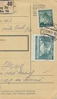 BuM (IMG2023) - Böhmen Und Mähren (1941) Prag 76 - Praha 76 / Hussinetz - Husinec (Postal Parcel Dispach) Tariff 5,50 K - Böhmen Und Mähren