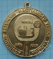 UKRAINE  / Badge, Medal / Table Tennis Ping Pong Veterans Association 3rd Place. Kiev 2000s - Tennis Tavolo