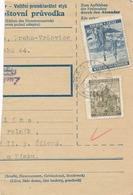 BuM (IMG2024) - Böhmen Und Mähren (1941) Prag 73 - Praha 73 (Postal Parcel Dispach) Tariff 5,50 K - Böhmen Und Mähren