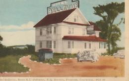 Hotel Bellevue, Route R. 1 Asbestos, Quebec Service, Peoprete, Courtoisie - Quebec