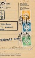 BuM (IMG2026) - Böhmen Und Mähren (1941) Prag 3 - Praha 3 / Hussinetz - Husinec (Postal Parcel Dispach) Tariff 7,50 K - Böhmen Und Mähren
